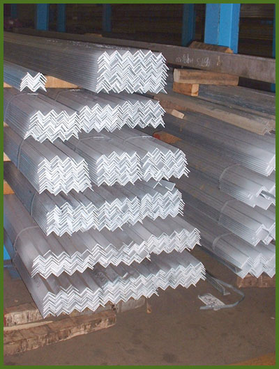 Hot Rolled and Galvanized Angles by Certified Steel Company